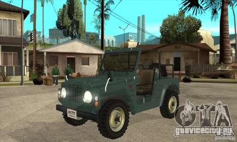 Suzuki Jimny для GTA San Andreas