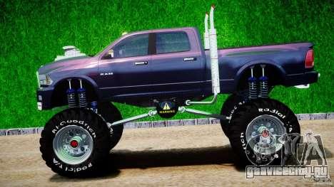 Dodge Ram 3500 2010 Monster Bigfut для GTA 4 вид слева