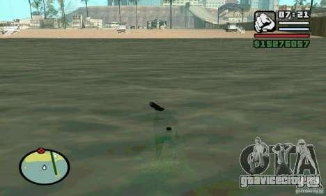 Плыть в 2 раза быстрее для GTA San Andreas второй скриншот