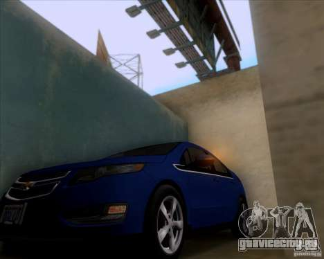 Chevrolet Volt 2012 Stock для GTA San Andreas вид сзади