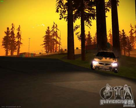 Ваз 2171 Рестайл для GTA San Andreas вид сзади слева