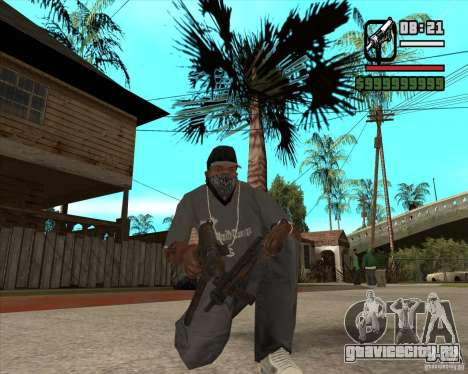 Пак оружия из Fallout New Vegas для GTA San Andreas четвёртый скриншот