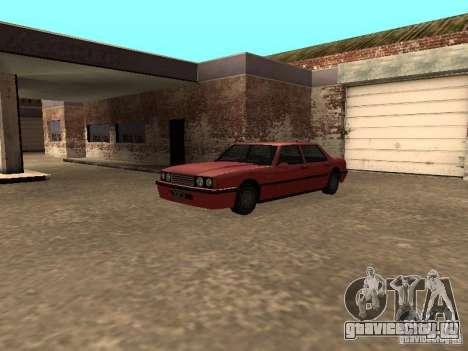 Стандартный Vincent для GTA San Andreas вид сзади