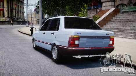 Fiat Duna 1.6 SCL [Beta] для GTA 4 вид сзади слева