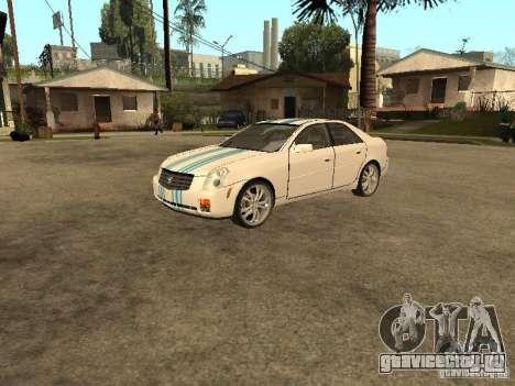 Cadillac CTS для GTA San Andreas вид сверху