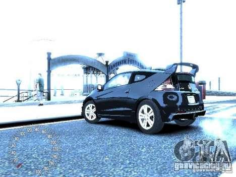 Honda Mugen CR-Z для GTA 4 вид сзади слева