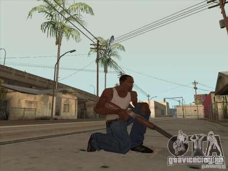 Новый Пак Отечественного Оружия для GTA San Andreas третий скриншот