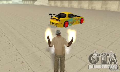 Сверхестественные способности CJ-я для GTA San Andreas третий скриншот