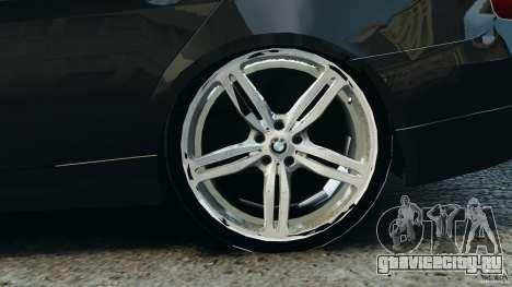 BMW 330i E92 для GTA 4 вид сверху