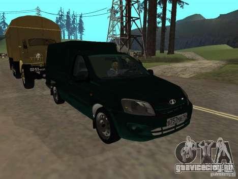 ВАЗ 2190 Каблук для GTA San Andreas