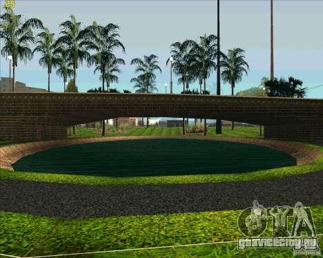 Новый парк в Лос Сантосе для GTA San Andreas четвёртый скриншот