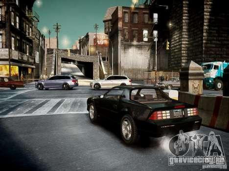 Chevrolet Camaro Iroc-Z 1990 для GTA 4 вид справа