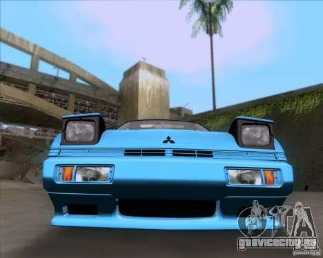 Mitsubishi Starion для GTA San Andreas вид сзади
