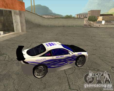Mitsubishi Eclipse street tuning для GTA San Andreas вид справа