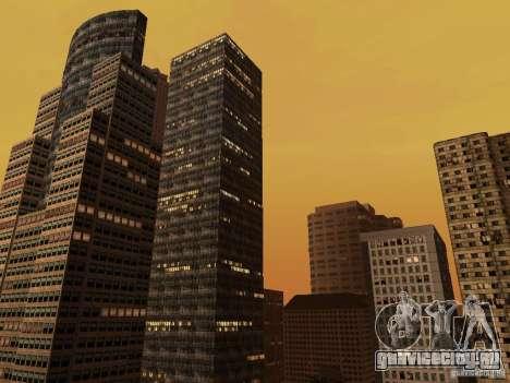 Новые текстуры небоскрёбов Downtown для GTA San Andreas второй скриншот