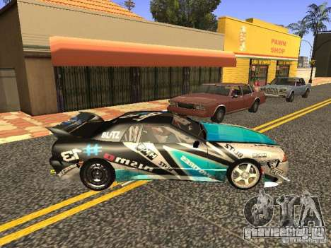 Elegy Drift Korch v2.1 для GTA San Andreas вид справа