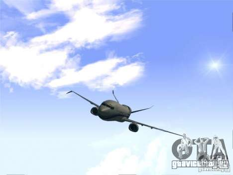 Boeing 737 Iron Man Bussines Jet для GTA San Andreas вид справа