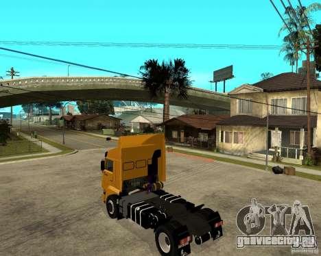 КамАЗ 5460M TAI version 1.5 для GTA San Andreas вид слева