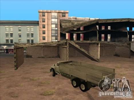 ЗиЛ-133ГЯ для GTA San Andreas вид изнутри