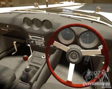 Nissan Fairlady Z HS30-240Z для GTA 4 вид сзади