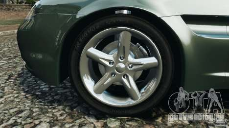 Daewoo Bucrane Concept 1995 для GTA 4 вид снизу