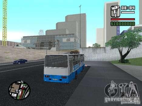 Ikarus 260 Безопасность движения для GTA San Andreas вид сзади