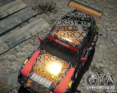Mitsubishi Pajero Proto Dakar EK86 винил 1 для GTA 4 вид сбоку