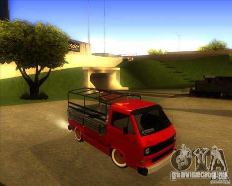 Volkswagen Transporter T3 pickup для GTA San Andreas