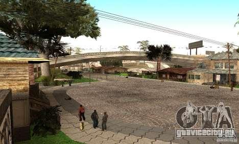 Grove Street 2012 V1.0 для GTA San Andreas