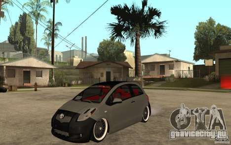 Toyota Yaris II Custom для GTA San Andreas