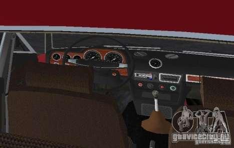 ВАЗ 2106 для GTA Vice City вид сверху