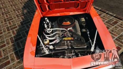 Chevrolet Camaro SS 350 1969 для GTA 4 вид сбоку