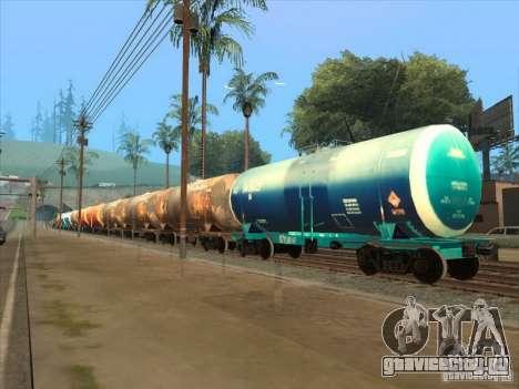Товарные вагоны 2 для GTA San Andreas вид изнутри