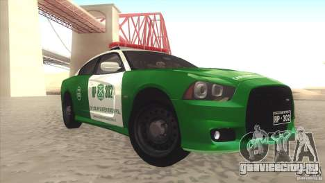 Dodge Charger SRT8 Carabineros для GTA San Andreas