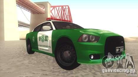 Dodge Charger SRT8 Carabineros для GTA San Andreas