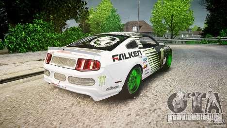 Ford Mustang GT Falken Tire v2.0 для GTA 4 вид сбоку