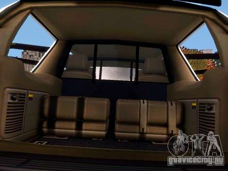 Chevrolet Tahoe Homeland Security для GTA 4 вид сбоку