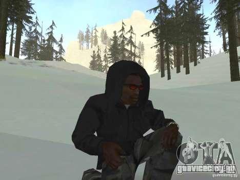 Толстовка с капюшоном для GTA San Andreas третий скриншот