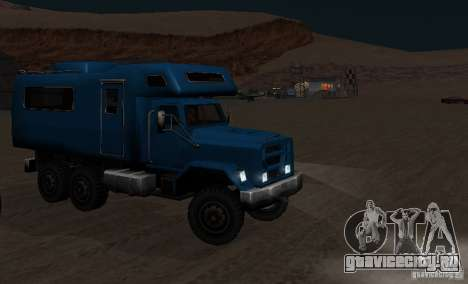 Journey 6x6 Enterable V1 для GTA San Andreas