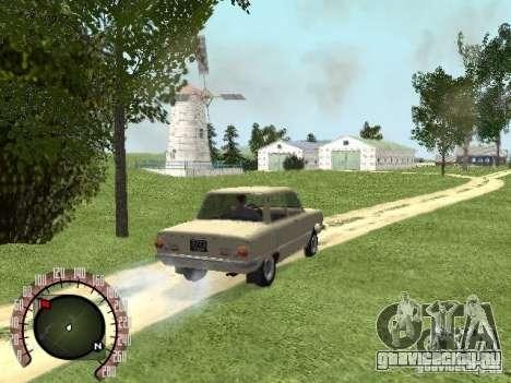ЗАЗ 968 для GTA San Andreas вид слева