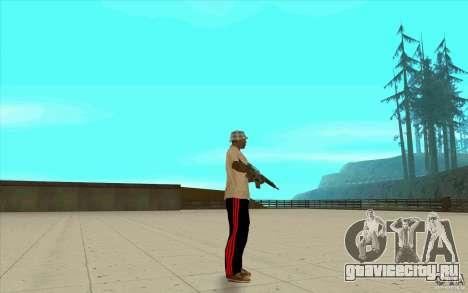 Спортивные штаны adidas для GTA San Andreas пятый скриншот