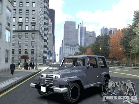 Mesa из GTA San Andreas для GTA IV для GTA 4