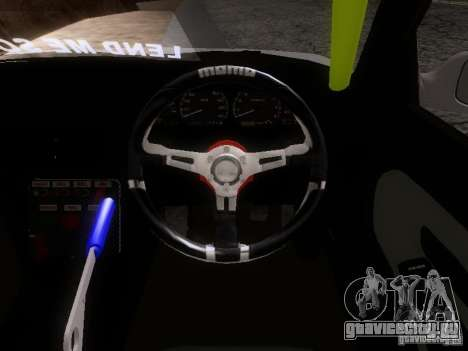 Nissan Silvia S13 Drift Style для GTA San Andreas вид изнутри