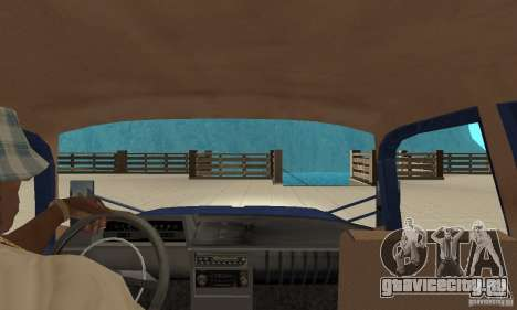 Москвич 412 с народным тюнингом для GTA San Andreas вид справа