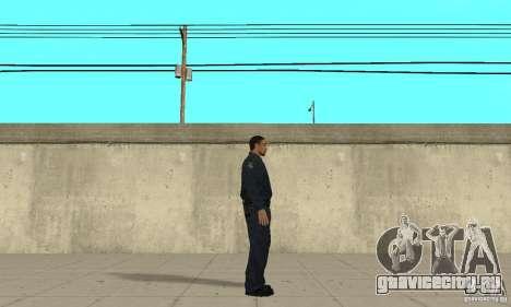 Полицейский из GTA 4 для GTA San Andreas второй скриншот