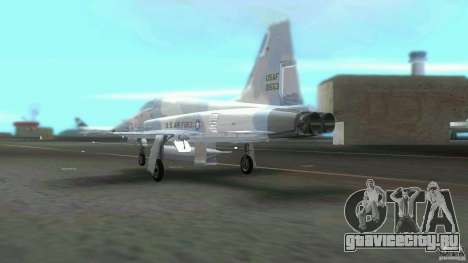 US Air Force для GTA Vice City вид сзади