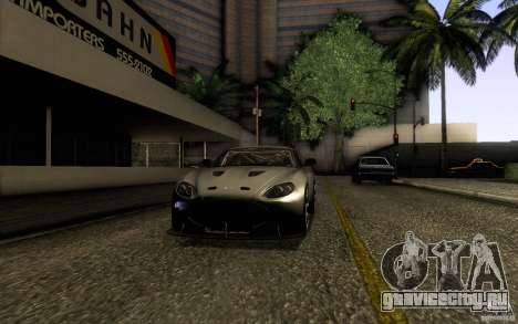 Aston Martin Zagato V12 V1.0 для GTA San Andreas вид справа
