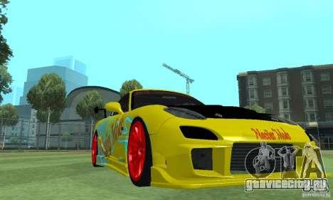 Mazda Rx7 для GTA San Andreas вид справа