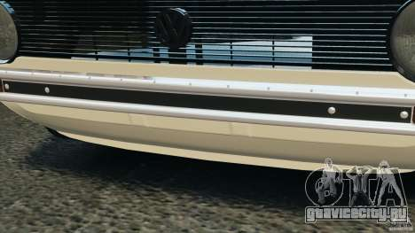 Volkswagen Golf Mk1 Stance для GTA 4 салон