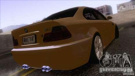 BMW M3 E48 для GTA San Andreas вид справа